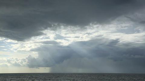 Stormy sky Stock Video Footage