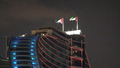 Jumeirah beach hotel Stock Video Footage