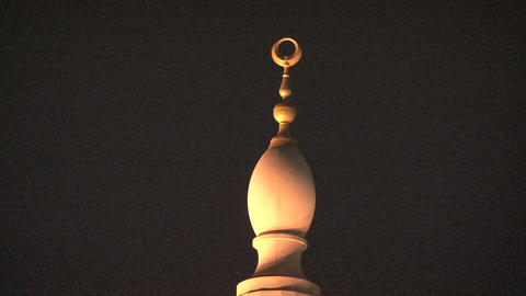 Dubai mosque Stock Video Footage
