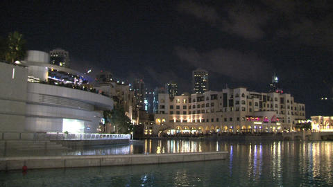 Burj khalifa pan tilt Stock Video Footage