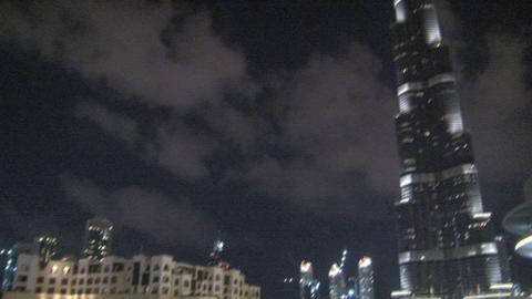 Burj khalifa pan tilt Footage