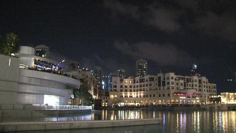 Burj khalifa pan and tilt Stock Video Footage