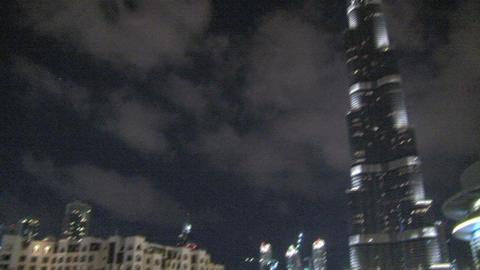 Burj khalifa pan and tilt Footage