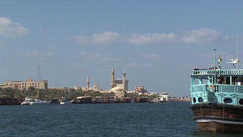 Grand mosque at the background Stock Video Footage