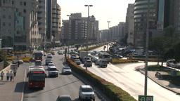 Dubai traffic Stock Video Footage