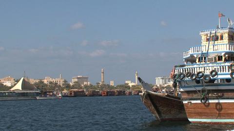 Dubai harbor Footage