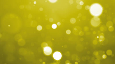 yellow particle Stock Video Footage