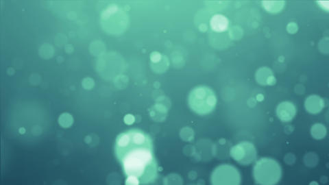blue particle Animation