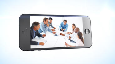 Phone Presentation - Apple Motion and Final Cut Pro X Template Apple Motion Template