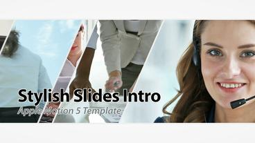 Stylish Slides 15s Commercial - Apple Motion and Final Cut Pro X Template Plantilla de Apple Motion