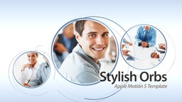 Stylish Orbs Revolution - Apple Motion and Final Cut Pro X Template Apple Motion 模板