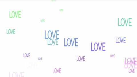 LOVE Stock Video Footage