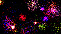 Fireworks Party Stock Video Footage