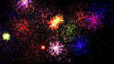 Fireworks   Party stock footage