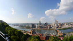 Pittsburgh Skyline Stock Video Footage