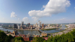 Pittsburgh Skyline Footage