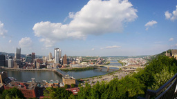 Pittsburgh Skyline Stock Video Footage