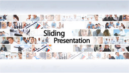 Sliding Presentation - Apple Motion and Final Cut Pro X Template Apple Motionテンプレート