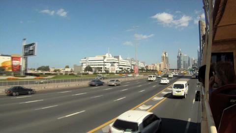 Dubai bustour time lapse Footage