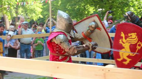 Knight 4 Stock Video Footage