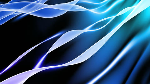 Soft Blue Background Loop Animation