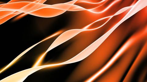 Soft Orange Background Loop Animation