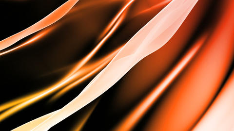 Soft Orange Background Loop Stock Video Footage