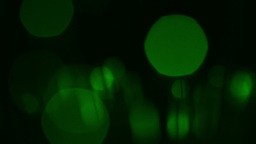 Abstract motion background with green circles Stock Video Footage
