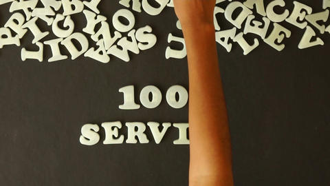 100 percent service Footage