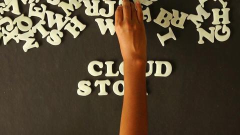 Cloud Storage Stock Video Footage