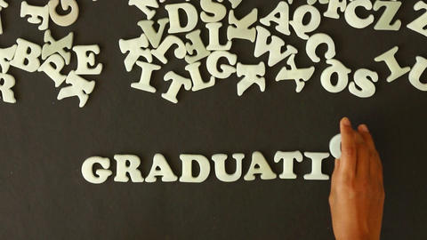 Graduation Stock Video Footage