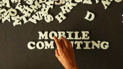 Mobile Computing Stock Video Footage