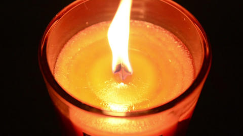 Candle 002 Stock Video Footage