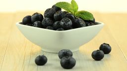 Blueberries Stock Video Footage