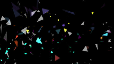 particle set 04 Stock Video Footage