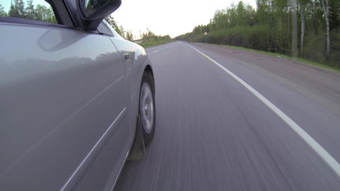 Ride On Car stock footage