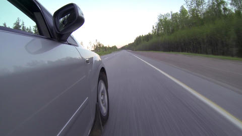 ride on car Stock Video Footage