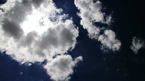 Amazing Clouds Timelapse 1 Stock Video Footage