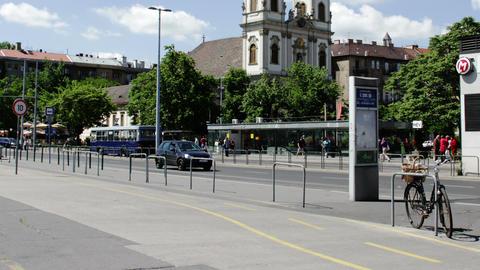 Budapest Hungary Timelapse Daytime 3 Footage