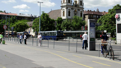 Budapest Hungary Timelapse Daytime 3 Stock Video Footage