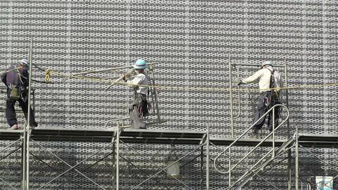 Building Construction Japan 4 Footage