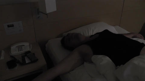 Men Sleeping 2 Stock Video Footage