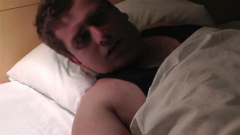 Men Sleeping Having Nightmare 5 Footage