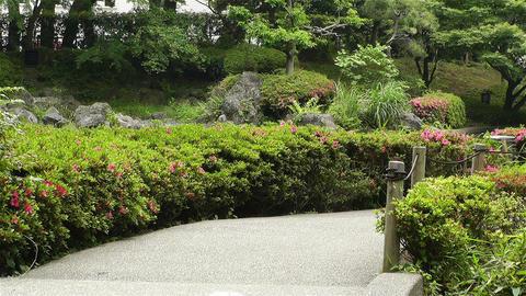 Park in Yokohama Japan 7 Footage