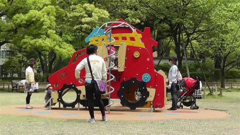 Playground in Yokohama Japan 2 Footage