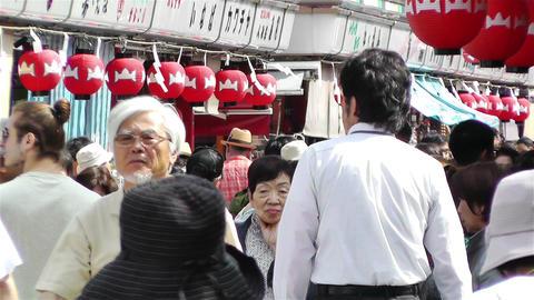 Tokyo Asakusa Japan 4 Stock Video Footage