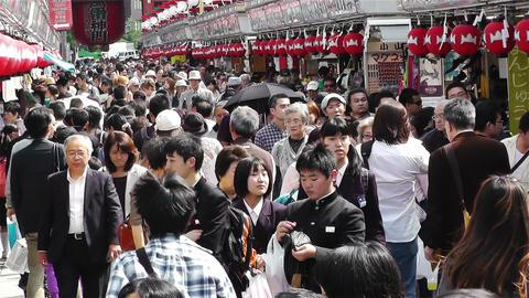 Tokyo Asakusa Japan 6 Footage