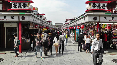 Tokyo Asakusa Japan 14 Footage