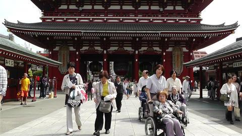 Tokyo Asakusa Senso Ji Temple Japan 12 Footage