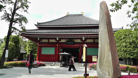 Tokyo Asakusa Senso Ji Temple Japan 21 Stock Video Footage